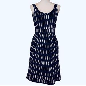 Tory Burch Sleeveless Fit Flare Dress 2 Geometric